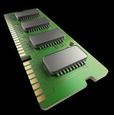RAM Memory Card — Stock Photo