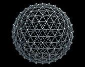 Molekyler struktur — Stockfoto