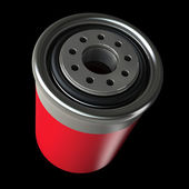 Car engine oil filter — Stock Photo