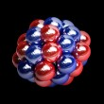 Atomic molecule isolated — Stock Photo #32122577