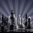 Stock Photo: Chess concept image - checkmate.