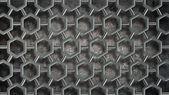Textura brillante moléculas 3d — Foto de Stock