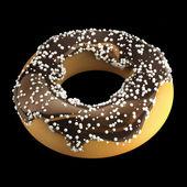 甜甜圈有糖衣. — 图库照片