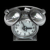 Old-fashioned alarm clock — Stock Photo
