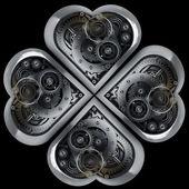 Mechanische hart — Stockfoto