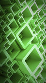 Background smooth cubes — Foto de Stock