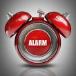 3d alarm bell — Stock Photo