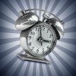 Old-fashioned alarm clock — Stock Photo #32130983