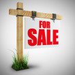 For sale sign — Stock Photo #32132953