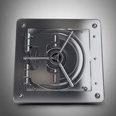 Caja fuerte de acero — Foto de Stock