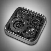 Gears box — Stock Photo