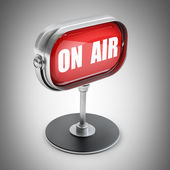 On air red sign — Stock Photo