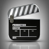 Clapper board. — Stock Photo
