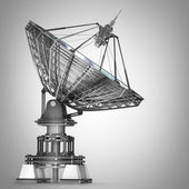 Satellite dishes antenna — Stock Photo