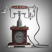 Retro telefoon. — Stockfoto