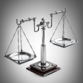 Vintage scales — Stock Photo