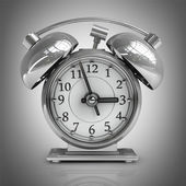 Old-fashioned alarm clock. — Stock Photo