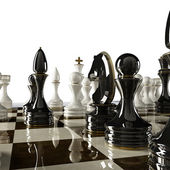 Chess concept image - checkmate — Stock Photo