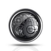 3D settings icon. — Stock Photo