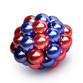 Atomic molecule — Stock Photo