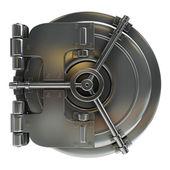 3d illustration of bank vault door — Stock Photo