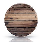 Wooden circle — Foto Stock