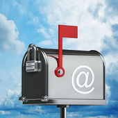 Mailbox High resolution 3D — Stock Photo
