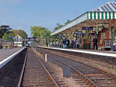 Sheringham station. — Stock Photo