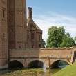 Oxburgh Hall, a moated country house. — Stock Photo