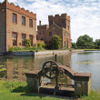 Stock Photo: Oxburgh Hall, moated country house.