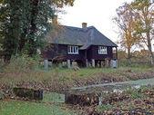 Rothschilds Bungalow, built in Woodwalton fen, England — Stock Photo