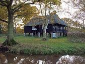 Rothschild's Bungalow, built in Woodwalton fen, England — Stock Photo