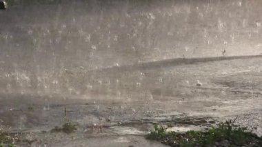 Rain storm. — Stock Video