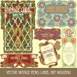 Label art nouveau — Stockvector  #33067187