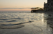 Restaurant au bord de mer — Photo