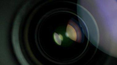 Objektiv-spinnerei — Stockvideo