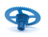 Blue cog — Stock Photo