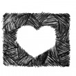 Stencil heart — Stock Photo