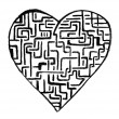 Doodle heart — Stock Photo