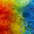 Clown wig background — Stock Photo