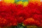Clown wig background — Stock Photo
