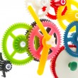 Multicolor clockwork — Stock Photo #38667743