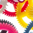 Multicolor clockwork — Stock Photo #38667761