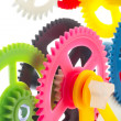 Multicolor clockwork — Stock Photo #38667787