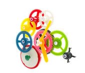 Multicolor clockwork — Stock Photo