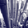 Постер, плакат: Industry gas and oil pipes