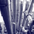 Stock Photo: Industry gas and oil pipes