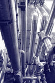 Industry gas and oil pipes — Stock Photo