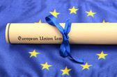 Direito da união europeia — Foto Stock