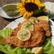 Stock Photo: Delicious catfish escalope